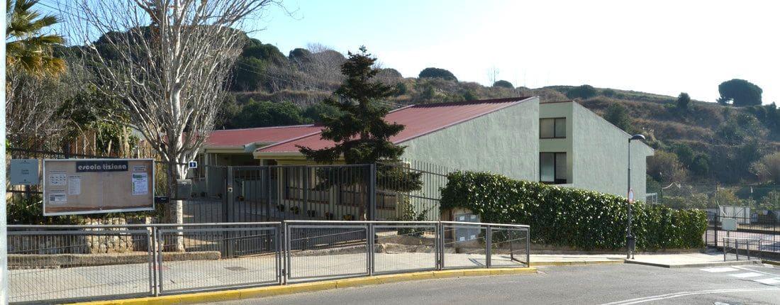 La escuela Tiziana es un centro educativo de titularidad pública ubicado en Tiana.