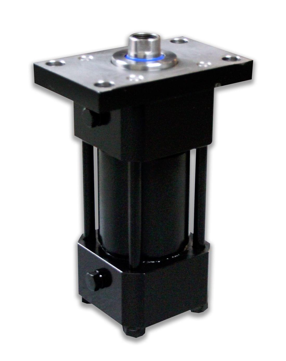Cilindro hidráulico doble efecto brida delantera amortiguado