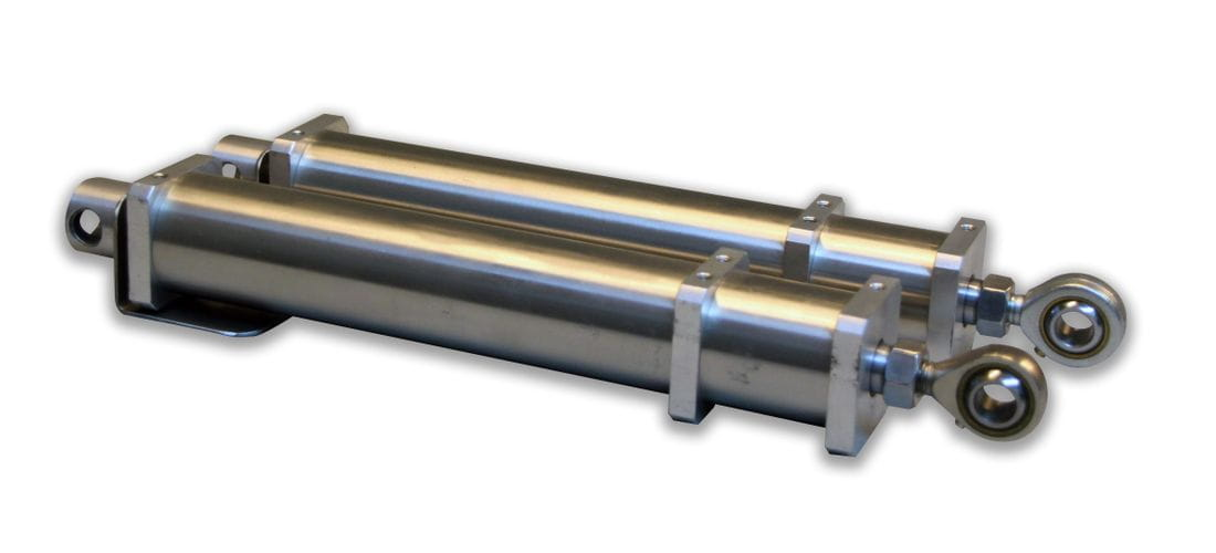 Cilindro neumático aluminio anodizado