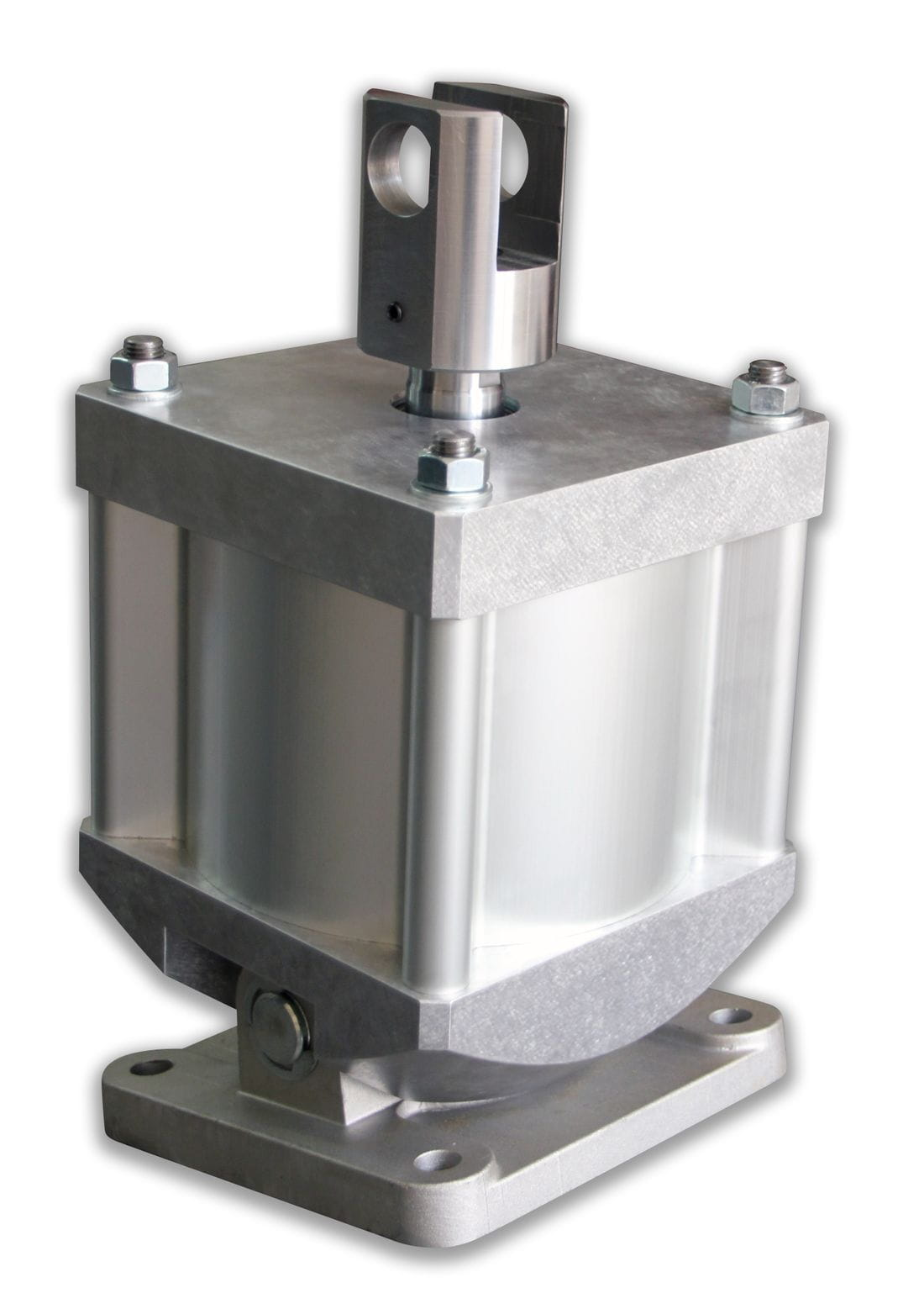 Pneumatic tilting cylinder