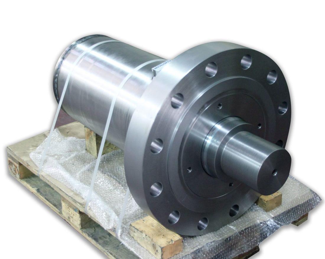 Cilindro hidráulico de gran formato