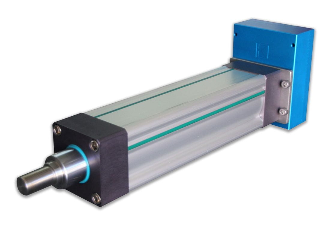 Large format electric linear actuator