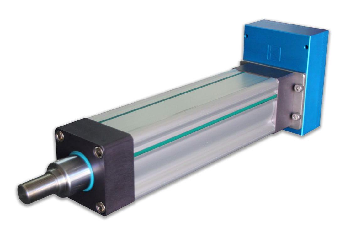 Actuador lineal elèctric gran format