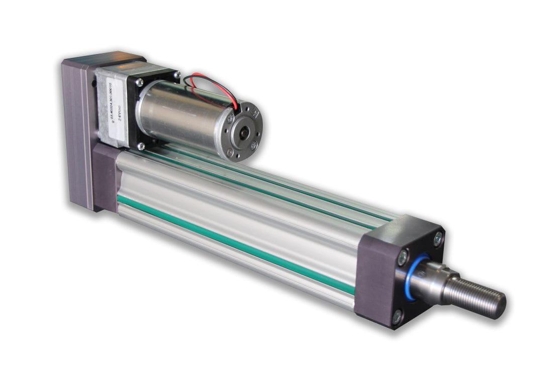 Actuador lineal eléctrico pequeño formato