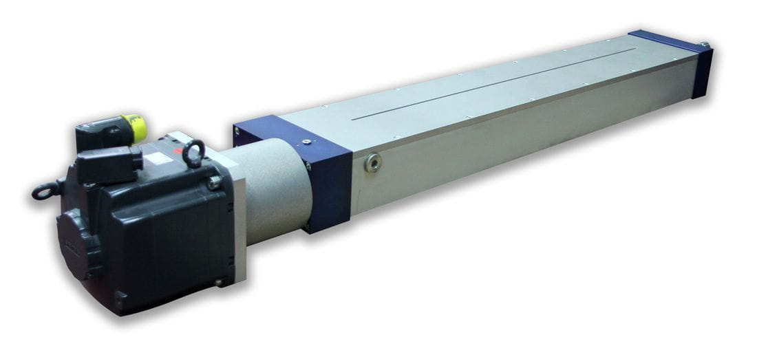 Electric actuator with high capacity and speed