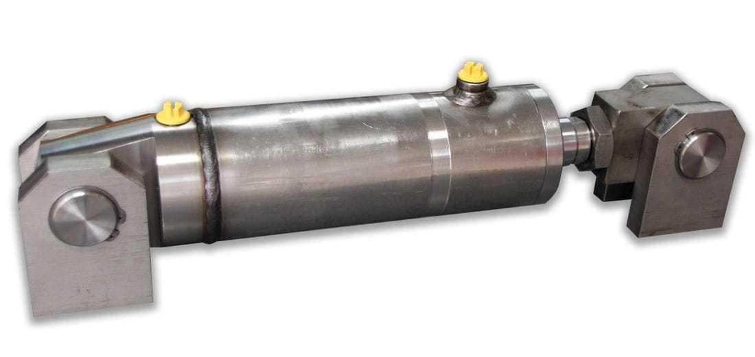 Hydraulic cylinder completly stainless steel AISI-304