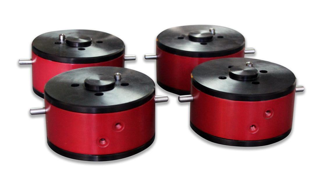Junta rotativa neumática de baixa fricció i alta velocitat