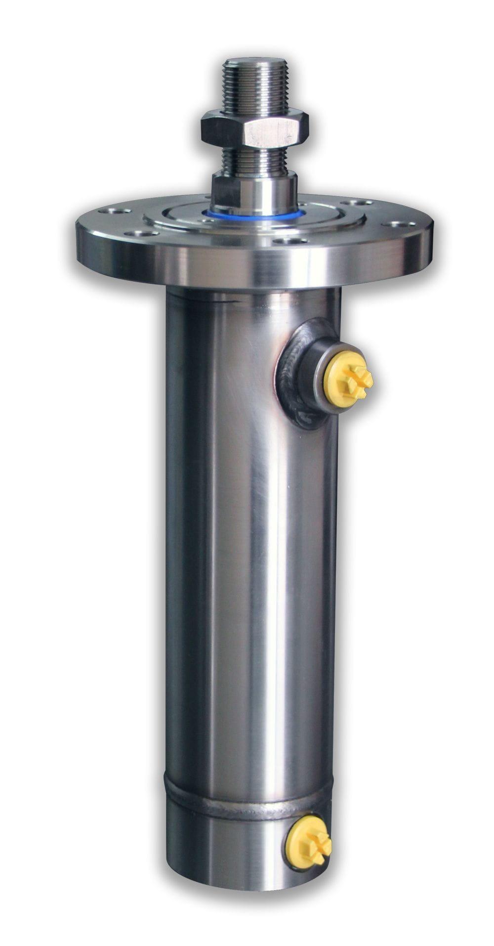 Cilindro hidráulico inoxidable