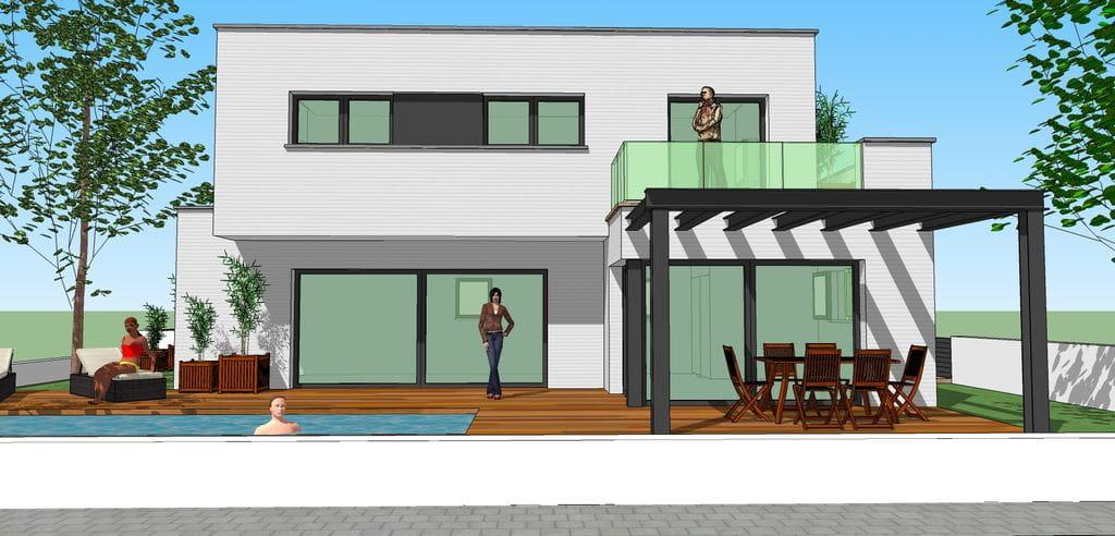 Ref 1001 terrain pour construire une maison for Construire une maison pour louer