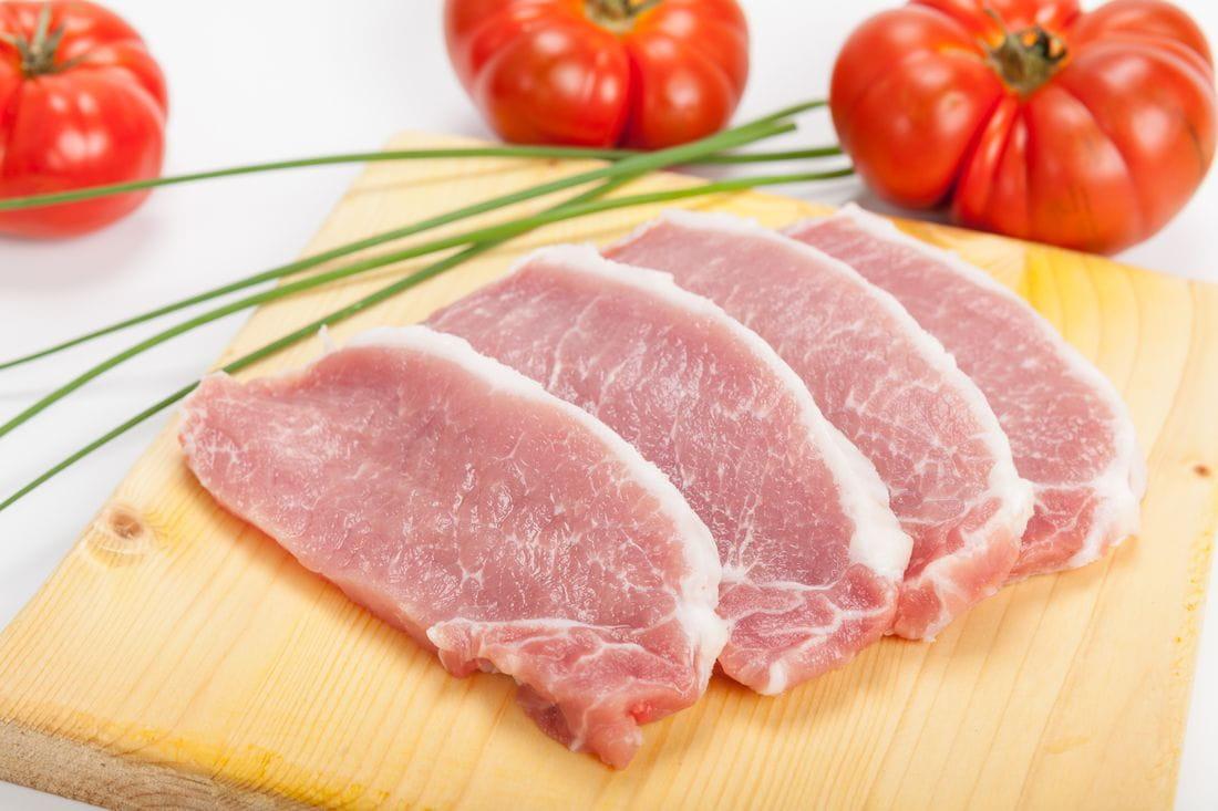 Llom de porc filetejat