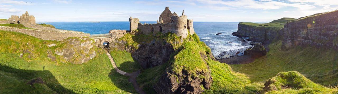 Castillo de Dunluce (Irlanda del Norte)