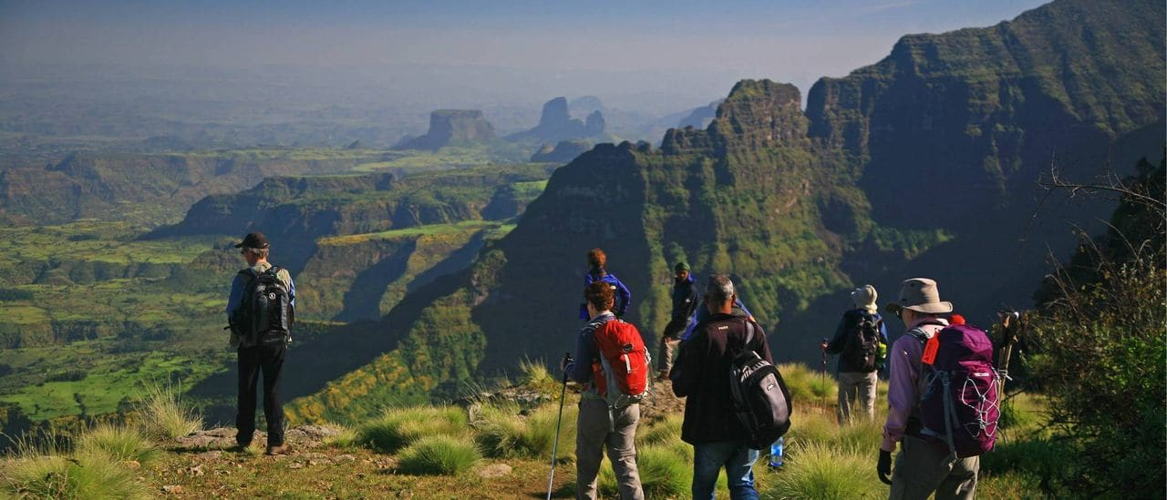 Trek en las Simien mountains