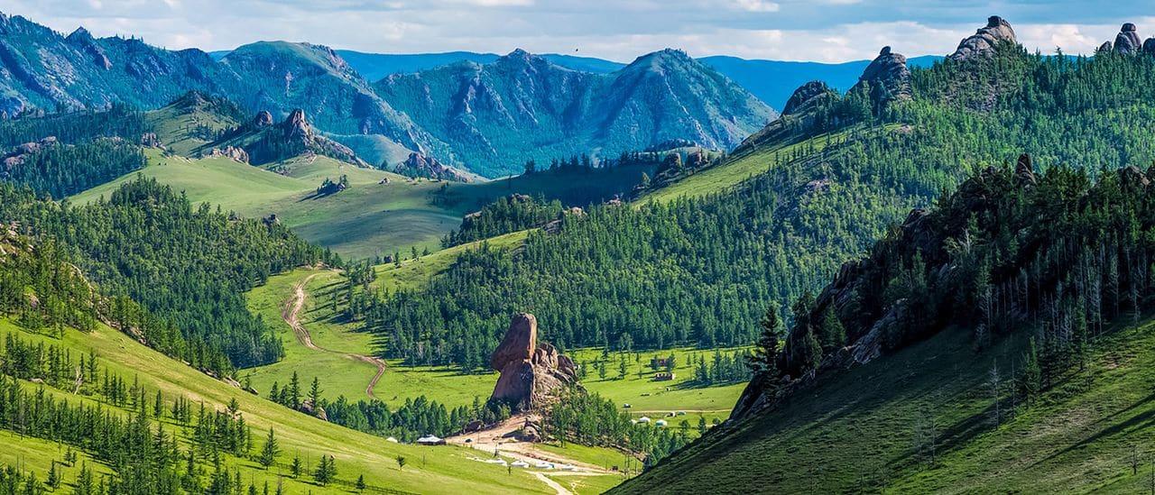 Parque Nacional de Terelj (Mongolia)