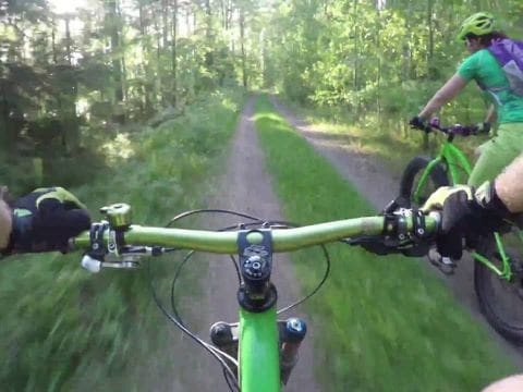 Fat Bike por los bosques de Finlandia