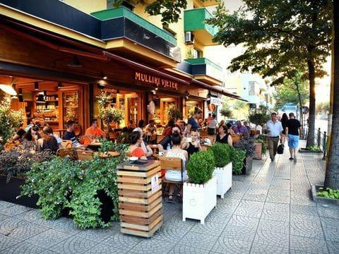 Tirana. Barrio de Blloku