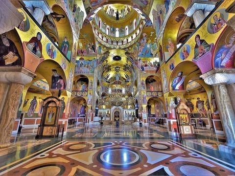 Catedral de la resureccion de cristo Podgorica