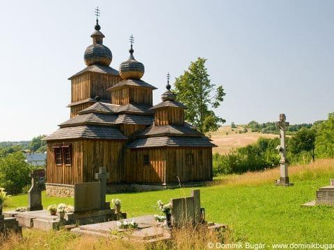 Iglesia de madera de Drevené Kostoly