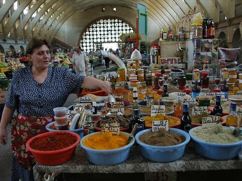 Erevan- mercado de especias