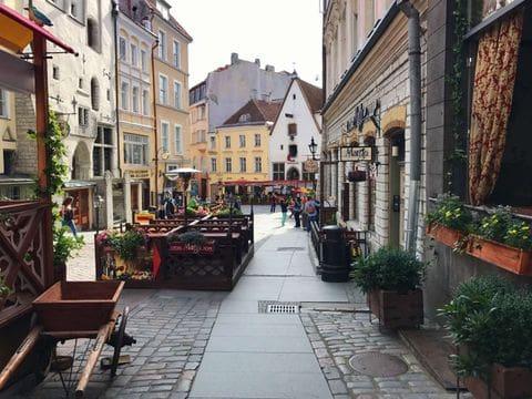 Centro historico de Tallin
