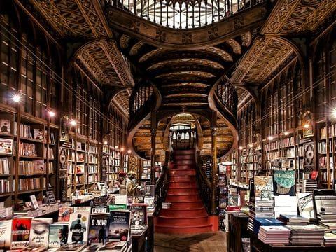 Librería Lello e Irmâo (Harry Potter) Oporto