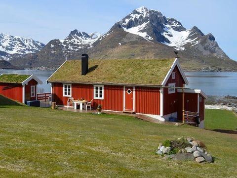 Rorbuer en Lofoten (Noruega)