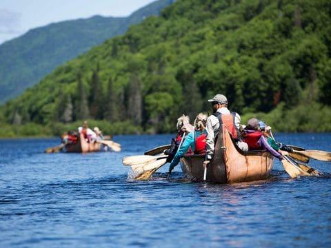 Canoa tradicional Rabaska