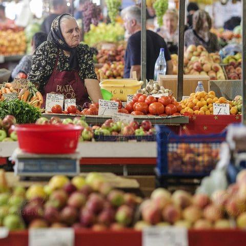 Mercado en Bucarest
