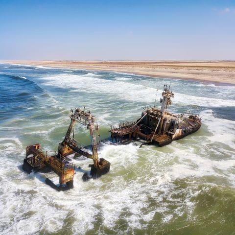 Costa de los esqueletos (Namibia)