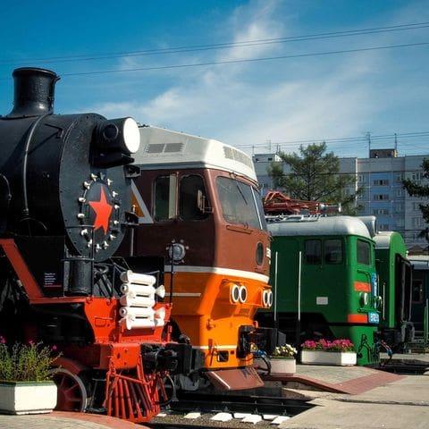 Museo del tren. Novosibirsk.