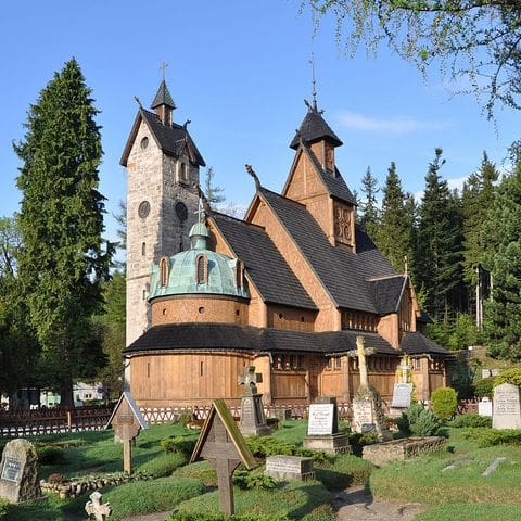 Ruta de las iglesias de madera (Vang)