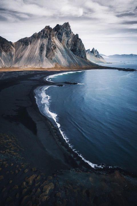Playa negra de Hofn