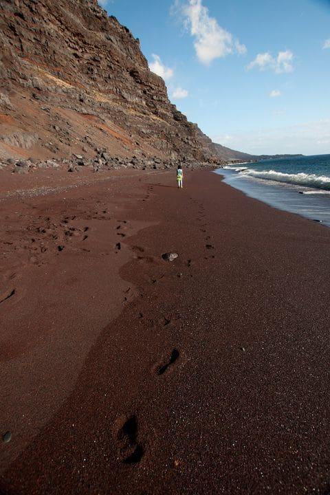 Playa volcánica