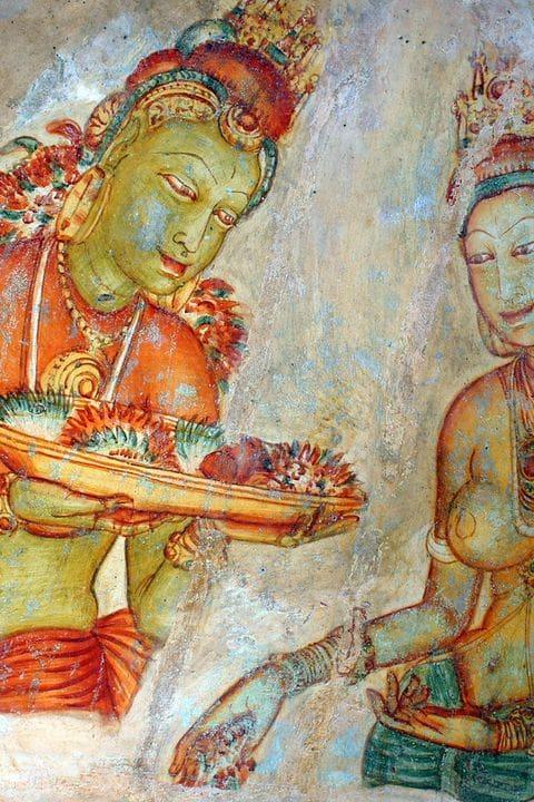 Les dames de Sigiriya