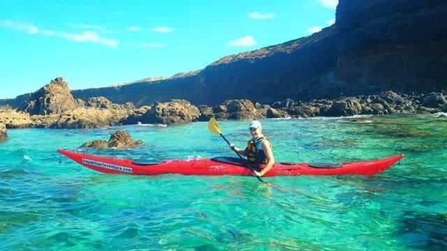 Kayak en Corralejo