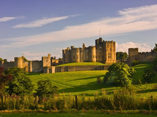 Castillo de Alnwick (Harry Potter)