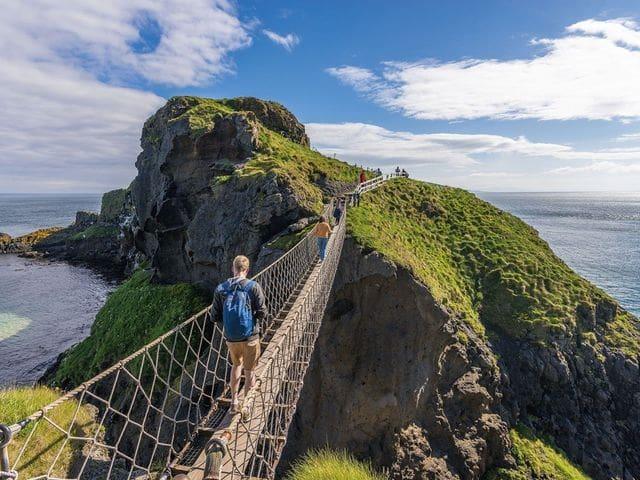 Carrick a Rede-Rope bridge (Antrim)