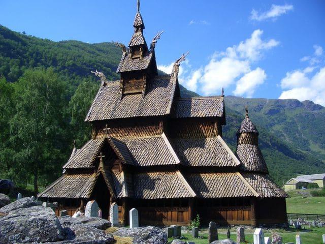 Iglesia de madera de Borgund (Noruega)