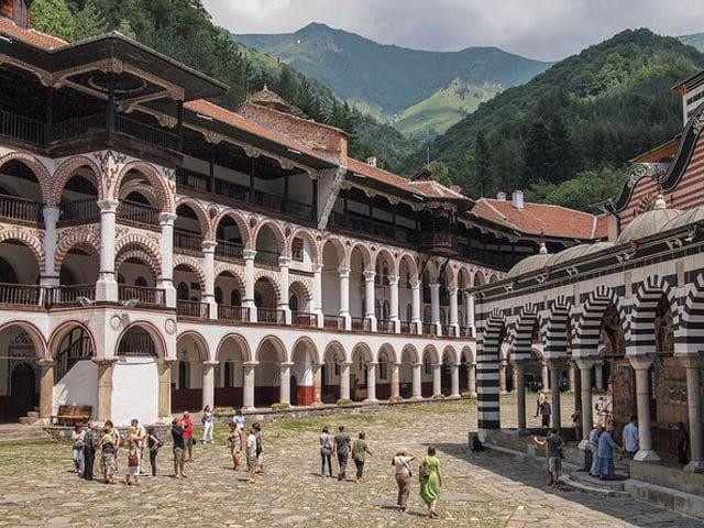 Monasterio de Rila (Patrimonio de la UNESCO)