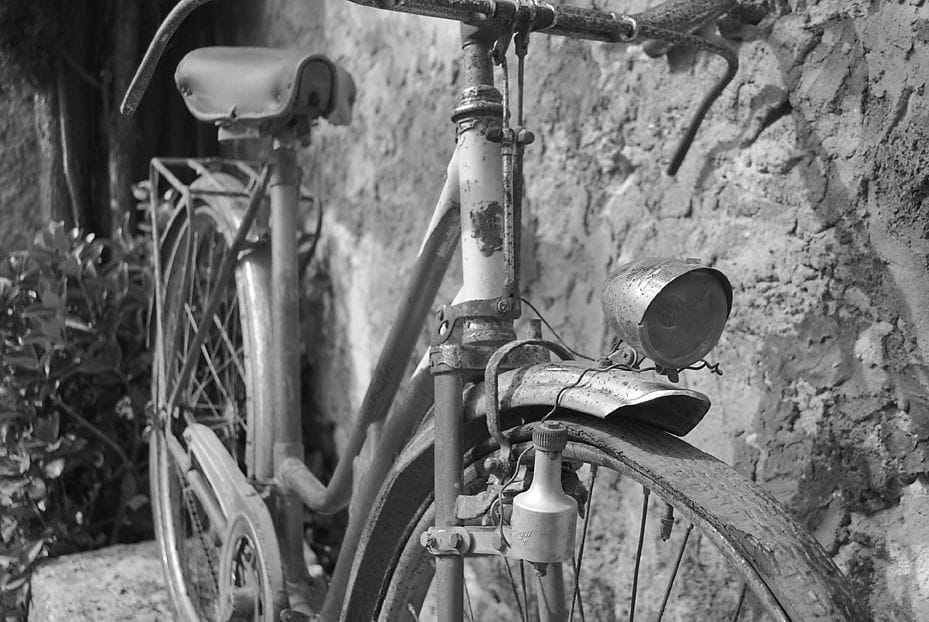 Can Xargay's grandfather's bicycle is almost 100 years old