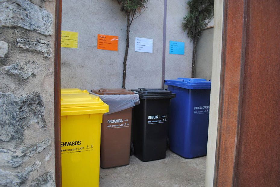 Le coin du recyclage