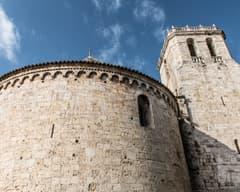 Exterior de Sant Pere de Besalú