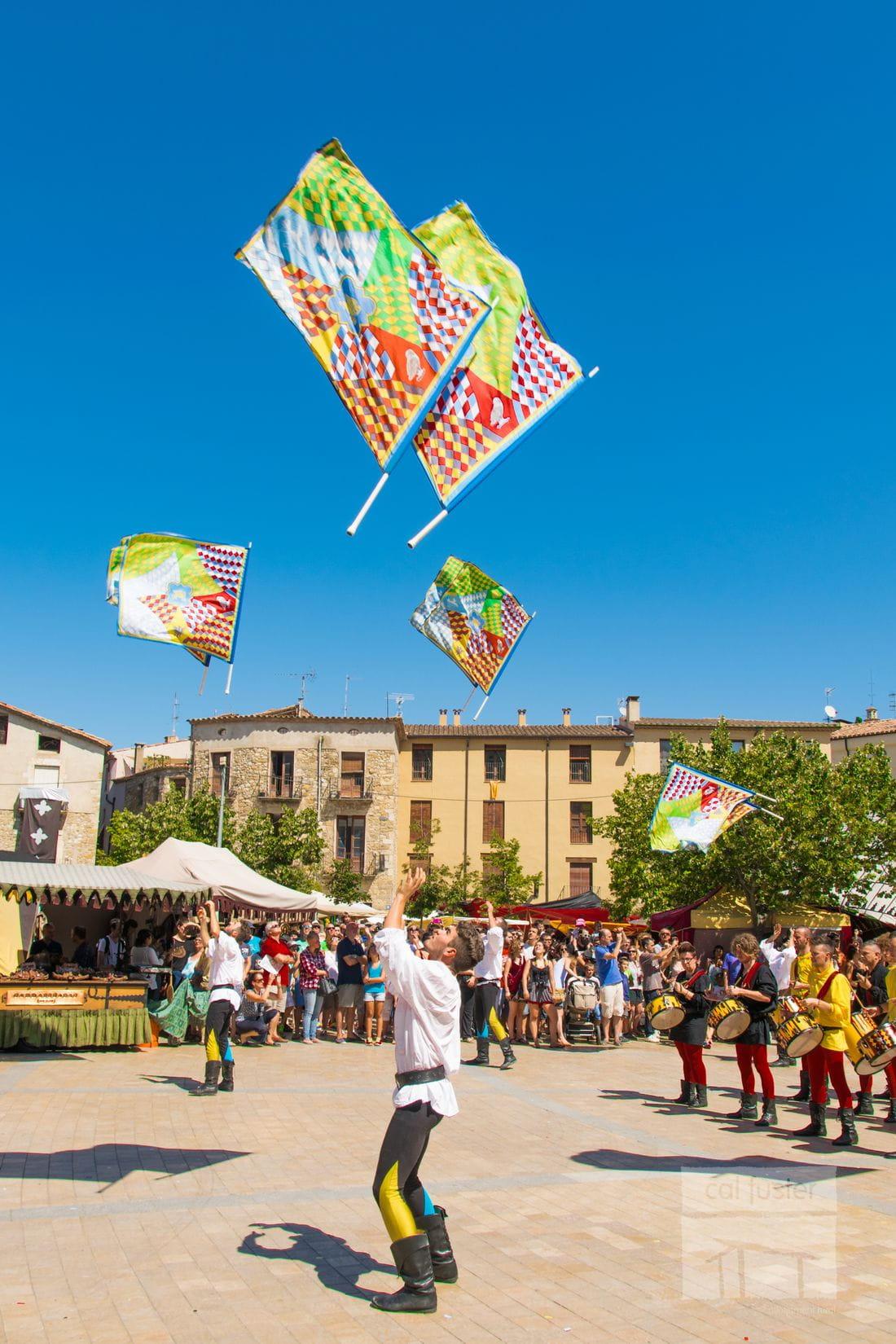 Feria Medieval en Besalú.