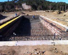 Construcció piscina