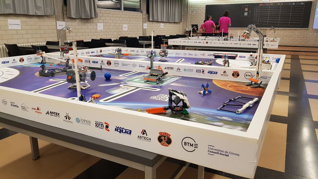 Astech With the Girona First Lego League