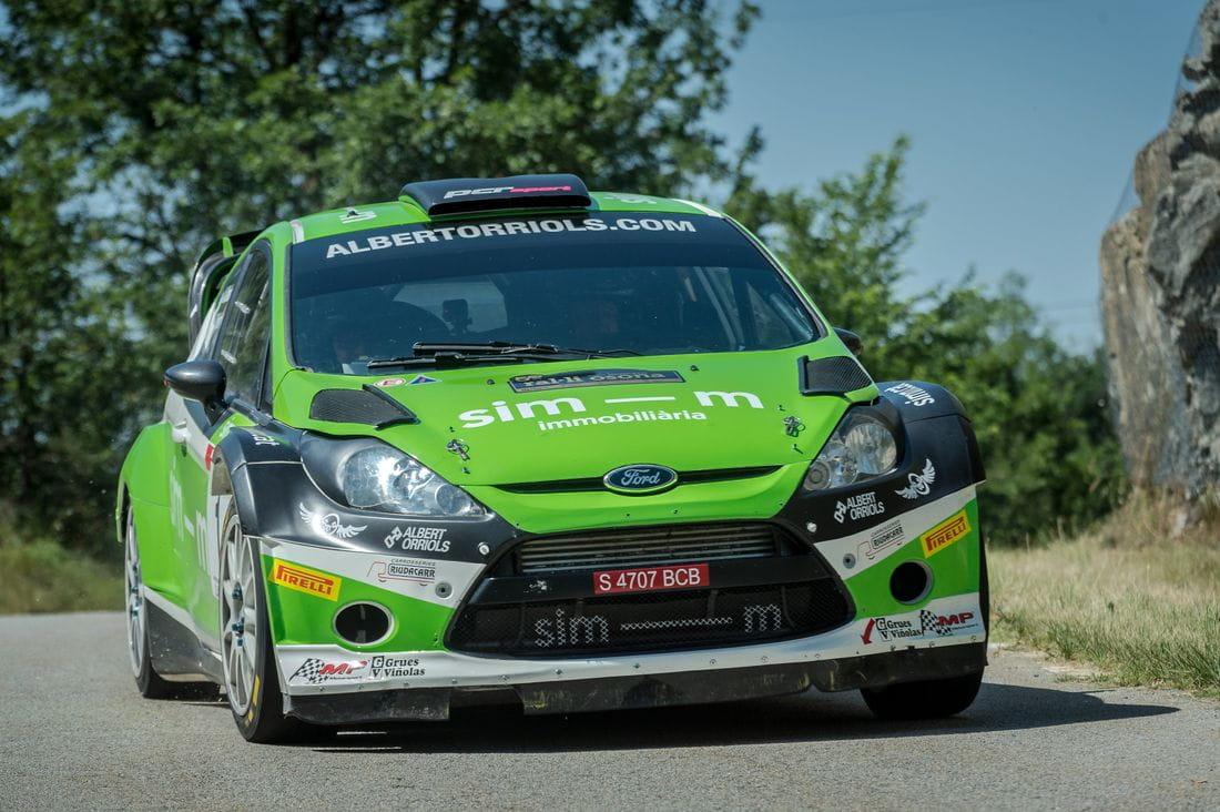 Albert Orriols (Ford Fiesta WRC)