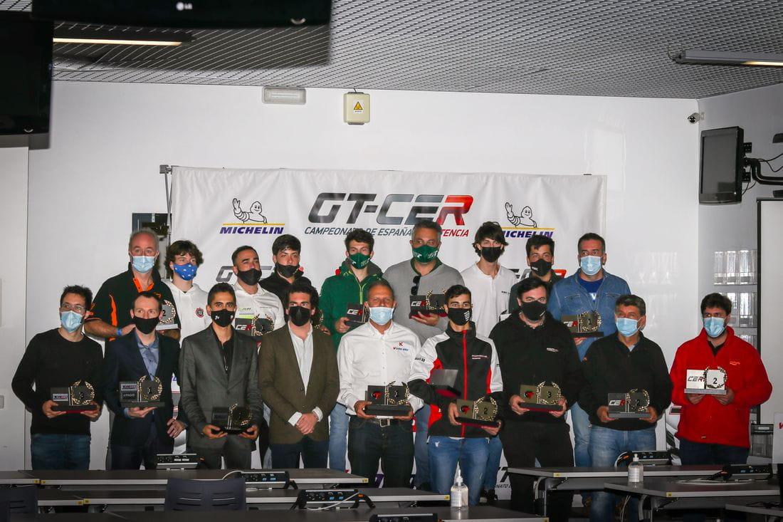 Campeones del GT-CER 2020