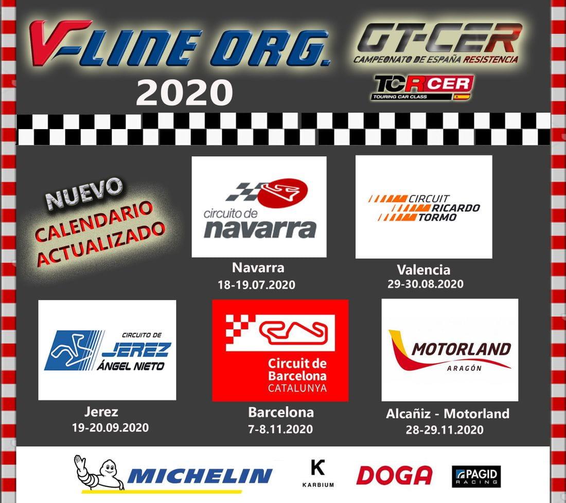 Calendario GT-CER 2020 actualizado