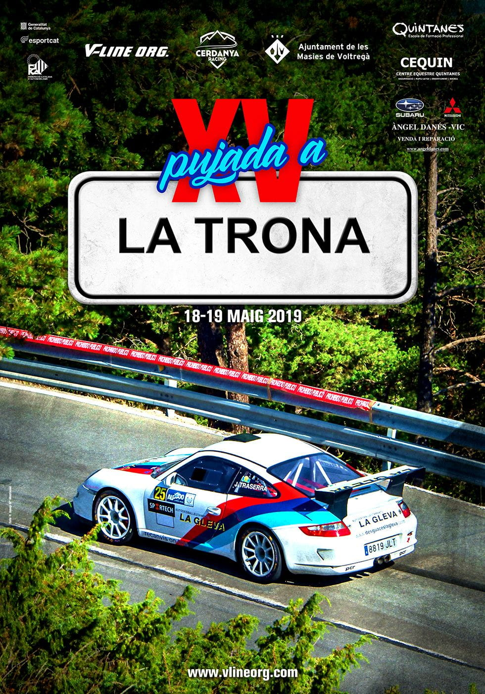 XV Pujada a La Trona 2019