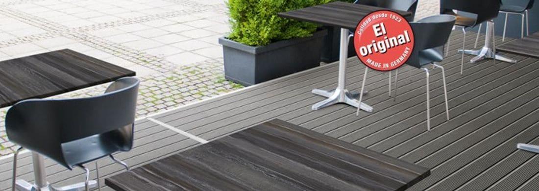 Una invitación a sentirse bien. Para restaurantes, terrazas y balcones: una gran cantidad de decorados atractivos en multitud de formas y dimensiones.