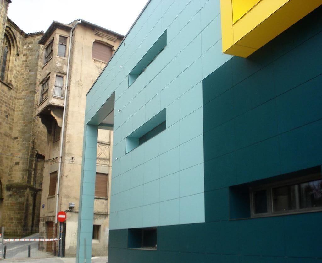 Revestimiento fachada perfil para fachada square Revestimientos para fachadas
